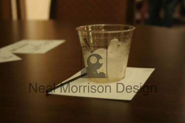 Whiskey glass is empty by NMorrison
