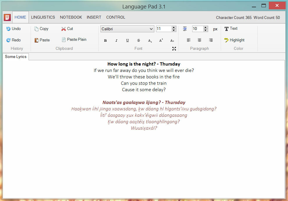 Language Pad 3.1 Preview by kwuus