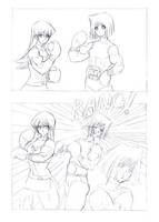 Queen of Yugioh page1 by g10w
