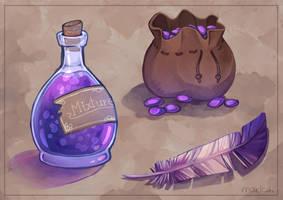 Random Items by Maricu-Mana
