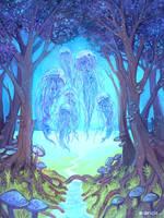 Jellyfish Forest by Maricu-Mana