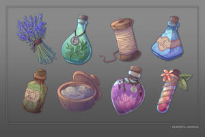 Item Collection by Maricu-Mana