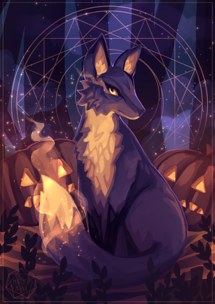 The Spirit Of The End Of October by Maricu-Mana