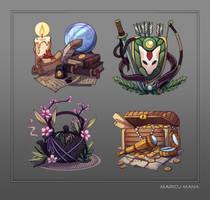 Fantasy Professions by Maricu-Mana