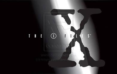 X-Files - TV show intro logo by rickymanson