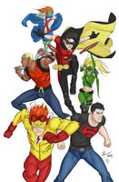 Young Justice by samnoonan