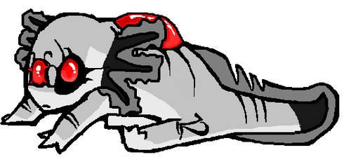 Robot Axolotl Custom by Tye-Flame00