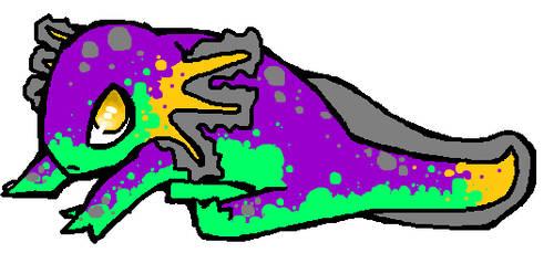 custom axolotl by Tye-Flame00