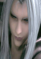 Sephiroth - Face of an Angel by Lesleigh63