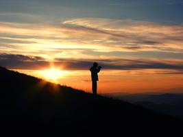 Catching the last sunbeams by djzealot