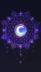 moon mandala tattoo plans by SoundStar