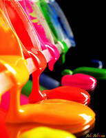 pouring colors by ada-adriana