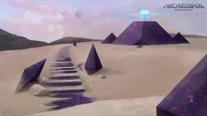 Tetraberilian Ruins (Desert) by AnaSchatten