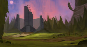 Foothills by InterstellarDeej