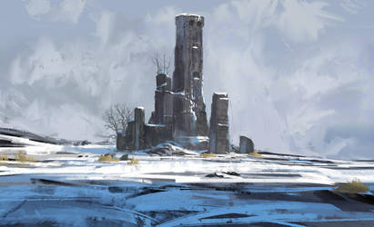 Frozen Bulwark by InterstellarDeej