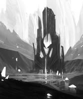 Crystal Tower by InterstellarDeej