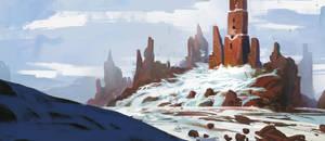 Oracle Peak by InterstellarDeej