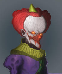 Hmmmmclown by InterstellarDeej