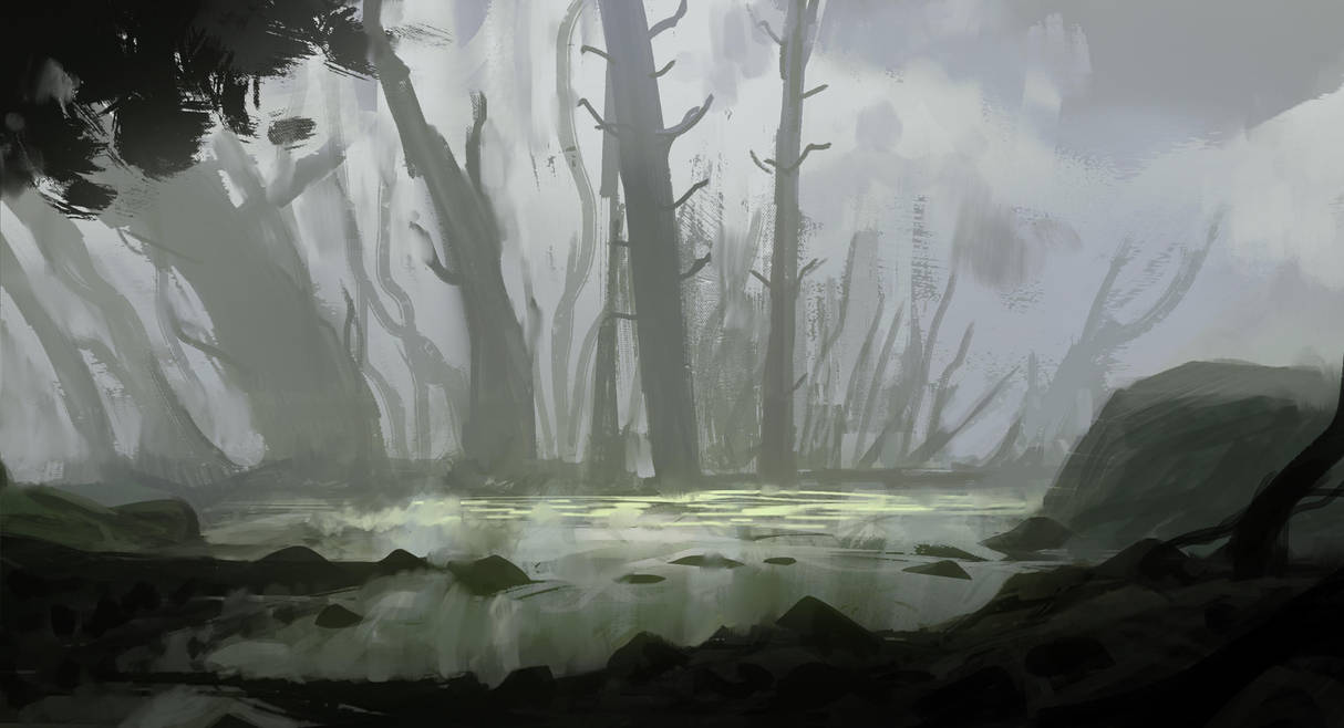Swamp by InterstellarDeej
