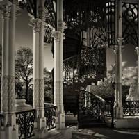 Neogothic stairs by AlexGutkin