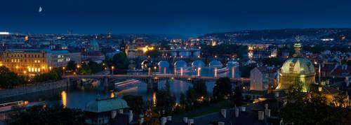 Praga night by AlexGutkin