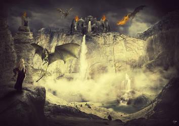 Dragon Lair by GogoZh