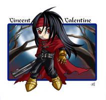 FF: Chibi Vincent by Nacrym