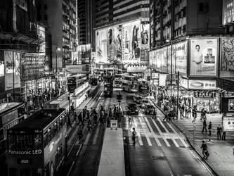 Hong Kong Crossing by amipal