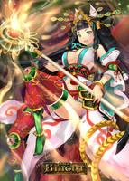 Magic Knight : Daughter of fox and snake by ThaiChau