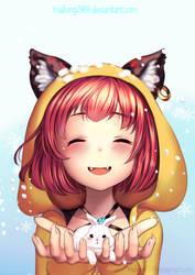 Commission: Furry (gift) by ThaiChau