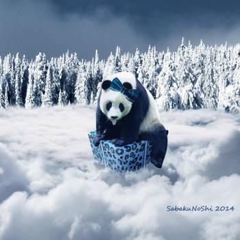 Christmas panda by SabakuNoShi