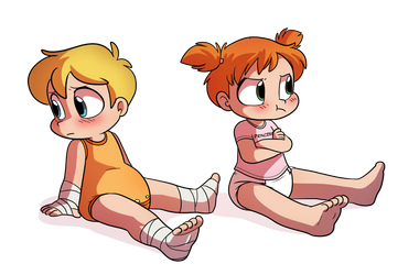Ken and Sam, Regressed hotheads - By Tato by The-Crusader-Network