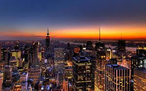 New York Landscape by Morgadu