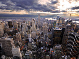 New York Rockefeller's View by Morgadu