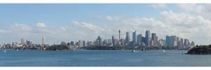 Sydney from Taronga by greenjinjo