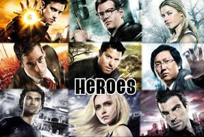 Heroes Wallpaper by princesseh