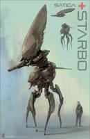 Starbo Aerial Drone Tank by Tabnir
