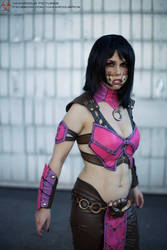 Ravenous Mileena - Mortal Kombat X by xXAnemonaXx