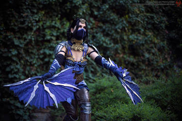 Rising Fan - Kitana - Mortal Kombat X by xXAnemonaXx