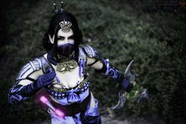 Mournful Kitana - Mortal Kombat X by xXAnemonaXx