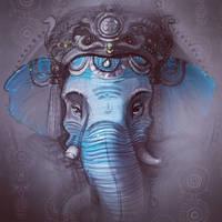 God Ganesha by Anechkamishkina