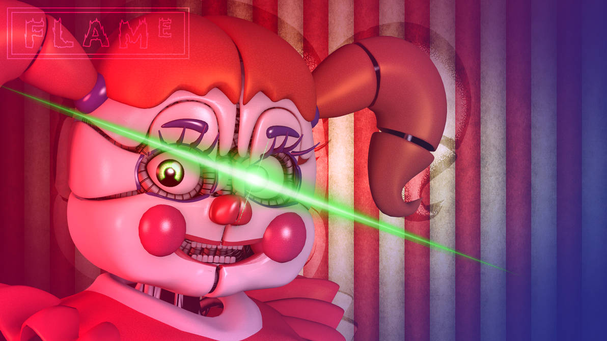 Sfm Fnafs Sl Circus Baby Wallpaper By Flamerlion On Deviantart