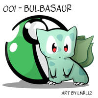 001 - Bulbasaur by lmrl12