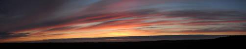 Orange Sunset by CrownedFox