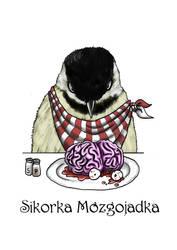 Brain-eating Chickadee by paterczm