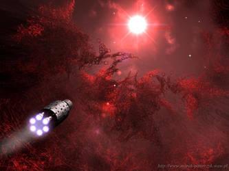 Evil Nebula by paterczm