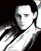 Loki - Fallen son by Darkellaine