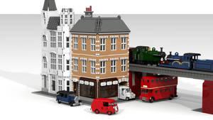 WIP: Street Scene by ScotNick