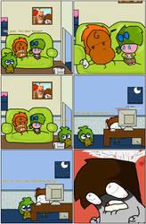 Sponge and Other People 4. by SpongeMonkeyz