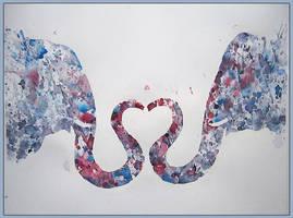 Love in droplets by srGitta